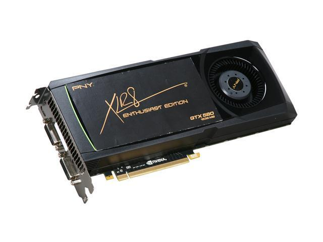 PNY GeForce GTX 580 (Fermi) DirectX 11 VCGGTX580XPB Video Card