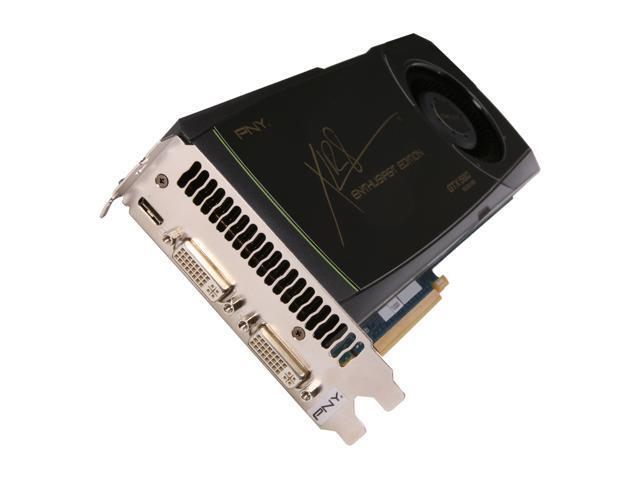 PNY GeForce GTX 580 (Fermi) DirectX 11 RVCGGTX580XXB 1536MB 384-Bit GDDR5 PCI Express 2.0 x16 HDCP Ready SLI Support Video Card