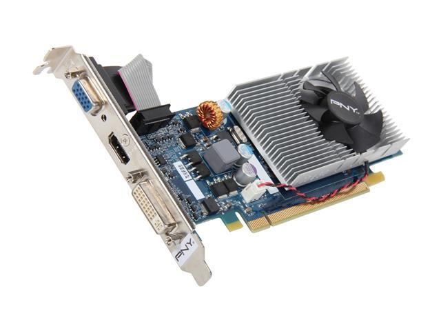PNY GeForce 210 DirectX 10.1 RVCGG2101XXB 1GB PCI Express 2.0 x16 HDCP Ready Video Card