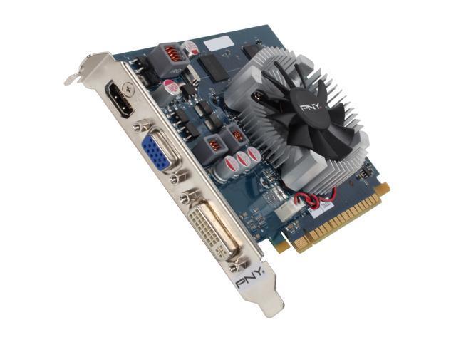 PNY GeForce GT 440 (Fermi) DirectX 11 RVCGGT4401XXB Video Card