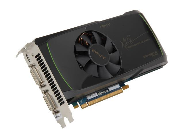 PNY GeForce GTX 560 Ti (Fermi) DirectX 11 RVCGGTX560TXXB 1GB GDDR5 PCI Express 2.0 x16 HDCP Ready SLI Support Video Card