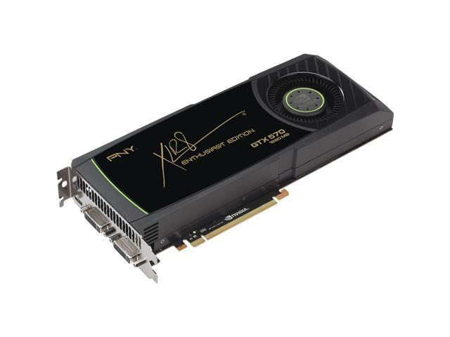 PNY VCGGTX570TXPB-OC GeForce GTX 570 Graphic Card - 1.20 GB GDDR5 SDRAM - PCI Express 2.0