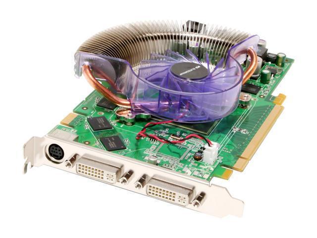 ECS N7950GT-512MX GeForce 7950GT 512MB 256-bit GDDR3 PCI Express x16 SLI Supported Video Card