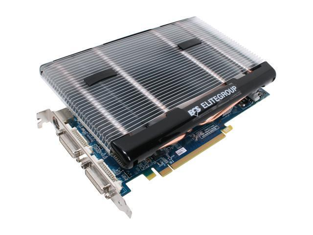 ECS GeForce 8800 GT DirectX 10 N8800GT-512MX+ 512MB 256-Bit GDDR3 PCI Express 2.0 x16 HDCP Ready SLI Support Video Card