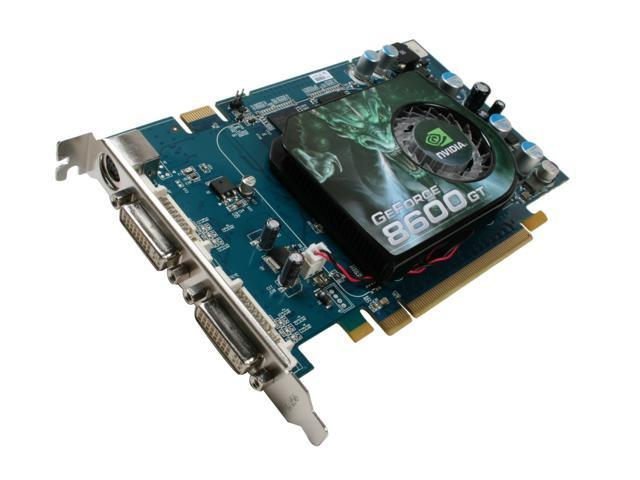 ECS GeForce 8600 GT DirectX 10 N8600GT-512MX Video Card