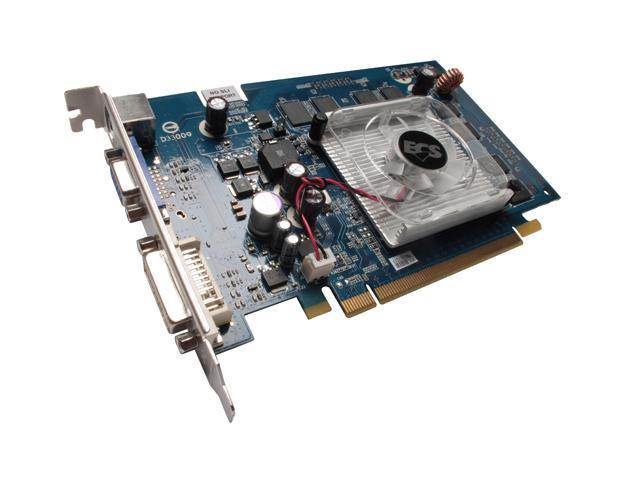 ECS GeForce 9400 GT DirectX 10 N9400GT-512DZ-F 512MB 128-Bit GDDR2 PCI Express 2.0 x16 HDCP Ready Video Card