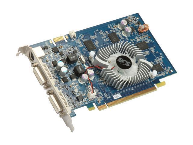 ECS GeForce 9500 GT DirectX 10 N9500GT-512MXL-F Video Card