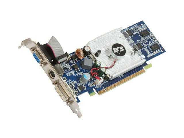 ECS GeForce 9500 GT DirectX 10 N9500GTC-1GDS-F 1GB 128-Bit DDR2 PCI Express 2.0 x16 HDCP Ready Video Card