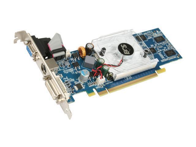 ECS GeForce 9400 GT DirectX 10 N9400GTC-1GDS-F 1GB 128-Bit DDR2 PCI Express 2.0 x16 HDCP Ready Low Profile Video Card