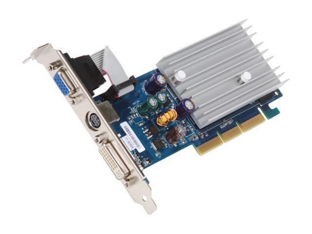 ECS GeForce 6200 DirectX 9 N6200AC-512DZ-H Video Card