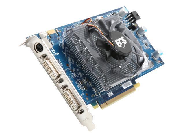 ECS GeForce 9600 GT DirectX 10 N9600GT-1GMS-F Video Card