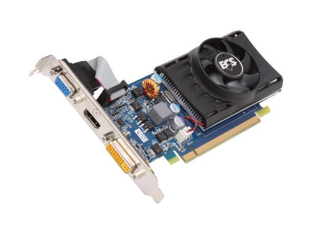 ECS GeForce GT 220 DirectX 10.1 NGT220C-1GQS-F1 1GB 128-Bit DDR2 PCI Express 2.0 x16 HDCP Ready Low Profile Ready Video Card