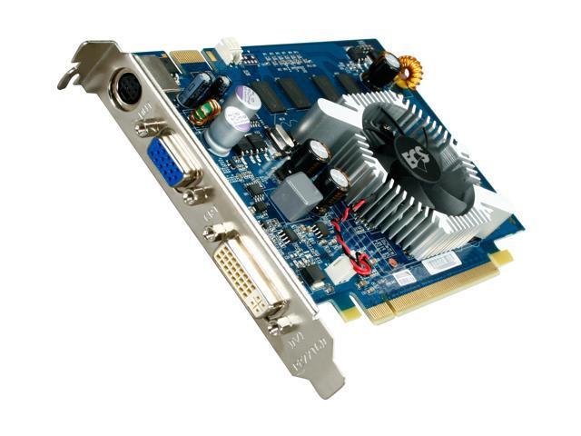 ECS GeForce 9500 GT DirectX 10 N9500GT-1GDR-F Video Card
