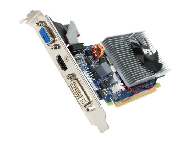 ECS GeForce 210 DirectX 10.1 NG210C-1GQS-F1 1GB 128-Bit DDR2 PCI Express 2.0 x16 HDCP Ready Low Profile Ready Video Card