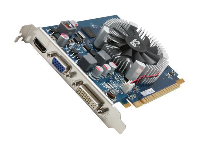 ECS GeForce GT 440 (Fermi) DirectX 11 NGT440-512QI-F 512MB 128-Bit GDDR5 PCI Express 2.0 x16 HDCP Ready Video Card
