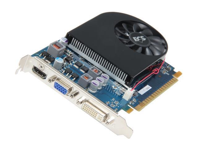 ECS GeForce GT 440 (Fermi) DirectX 11 NGT440-1GQI-F1 Video Card