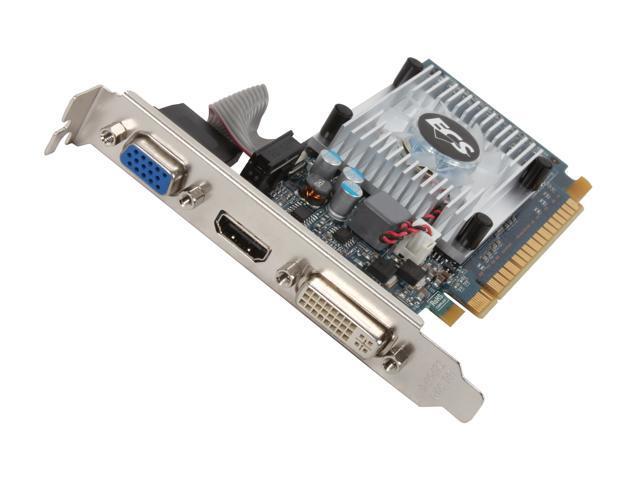 ECS GeForce GT 520 (Fermi) DirectX 11 NGT520C-2GQKL-F Video Card
