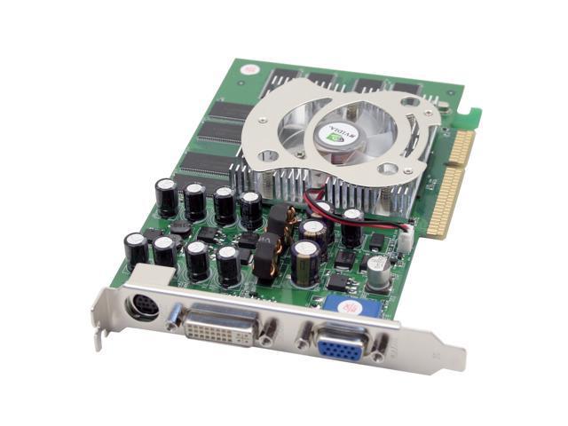 AOpen GeForce 6600 DirectX 9 GF 6600 DV256 256MB 128-Bit DDR AGP 4X/8X Video Card