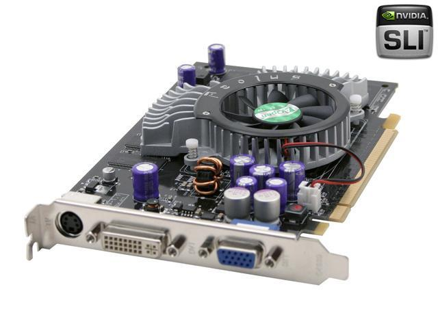AOpen GeForce 6600 DirectX 9 GF6600 DV128 PCIE Video Card