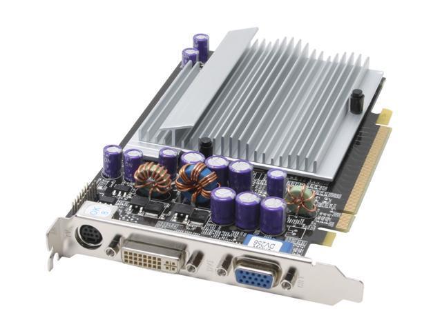 AOpen GeForce 6600 DirectX 9 91.05210.66U 256MB 128-Bit DDR PCI Express x16 SLI Support Video Card