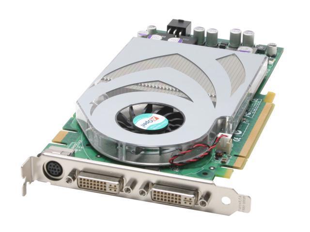 AOpen GeForce 7800GT DirectX 9 Aeolus 7800GT-DVD256 256MB 256-Bit GDDR3 PCI Express x16 SLI Support Video Card