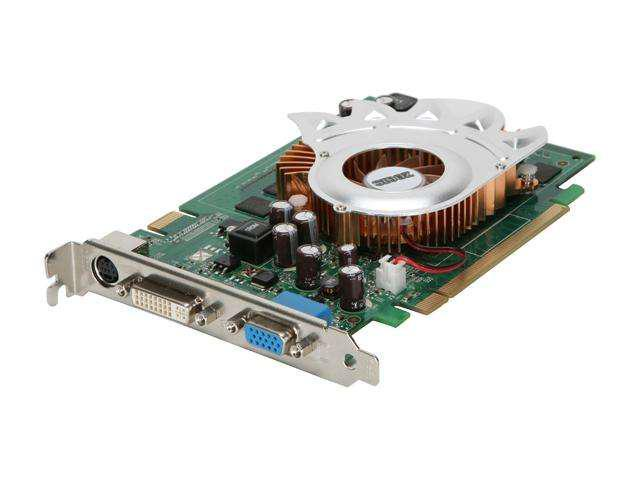 ZOGIS GeForce 8600 GT DirectX 10 ZO86GT-E Video Card