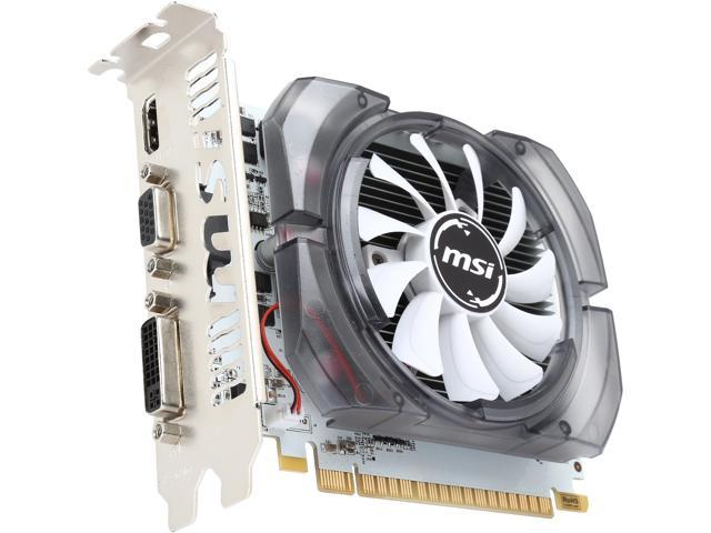 MSI GeForce GT 730 DirectX 12 N730-2GD3V3 2GB 128-Bit DDR3 PCI Express 2.0 x16 HDCP Ready ATX Video Card