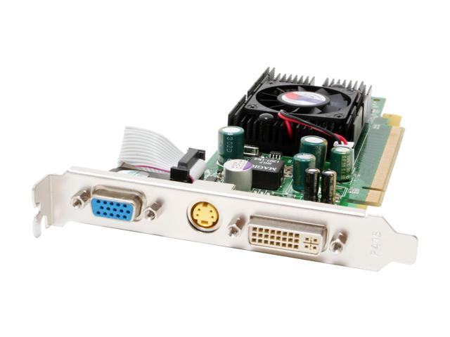 JATON GeForce 7300GS DirectX 9 Video-PX7300GS-256 256MB 64-Bit GDDR2 PCI Express x16 Low Profile Ready Video Card