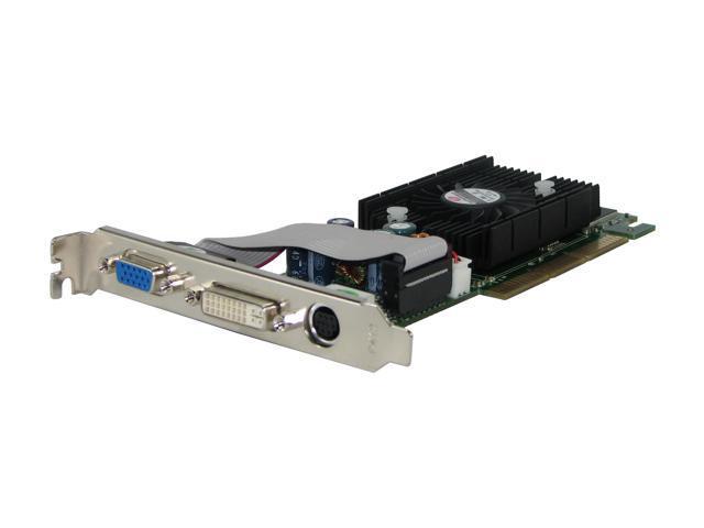 JATON GeForce 6200 DirectX 9 3DFORCE 6200-256 Video Card with L-P Bracket
