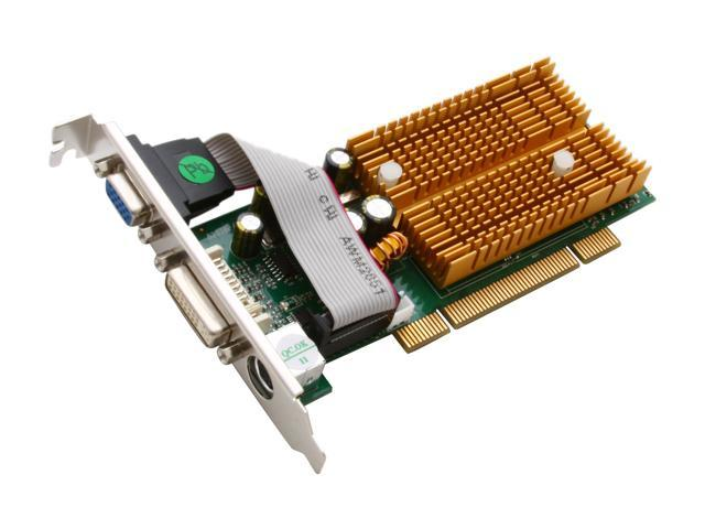JATON GeForce 6200 DirectX 9 VIDEO-338PCI-DVI 256MB 64-Bit DDR PCI Low Profile Ready Video Card