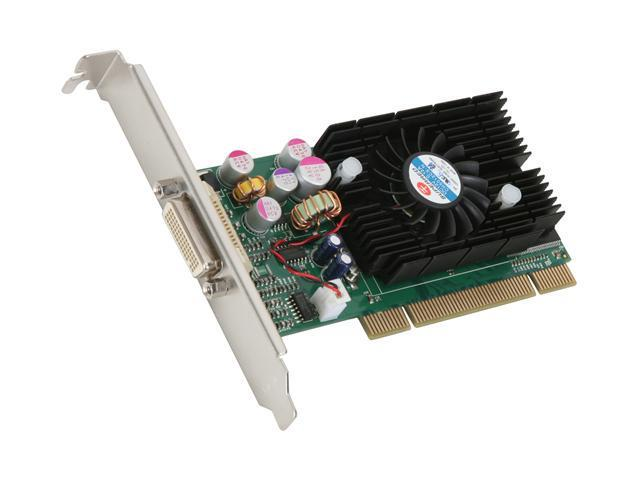 JATON GeForce FX 5200 DirectX 9 VIDEO-228PCI-XS 128MB 64-Bit DDR PCI Low Profile Ready Video Card