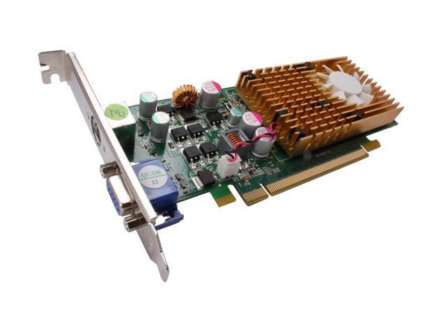 JATON GeForce 9400 GT DirectX 10 Video-PX498-TWIN 1GB 128-Bit GDDR2 PCI Express 2.0 x16 Low Profile Ready Video Card