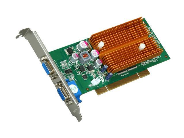 JATON GeForce 6200 DirectX 9 Video-348PCI-256TWIN Video Card