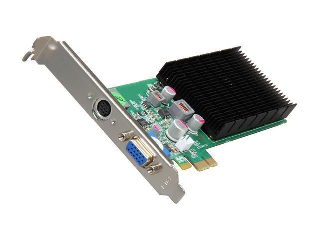 JATON XLR8 GeForce 8400 GS DirectX 10 Video-PX628GS-LP1 512MB 64-Bit DDR2 PCI Express x1 Low Profile Ready Video Card