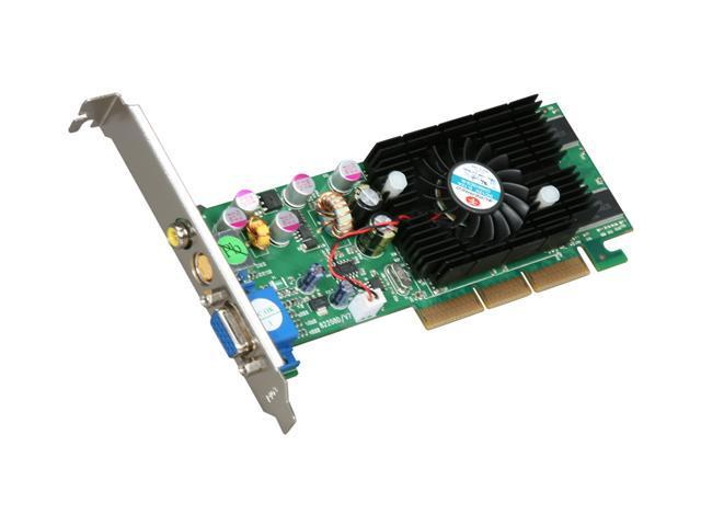 JATON GeForce FX 5200 DirectX 9 3DFORCE FX5200TV Video Card