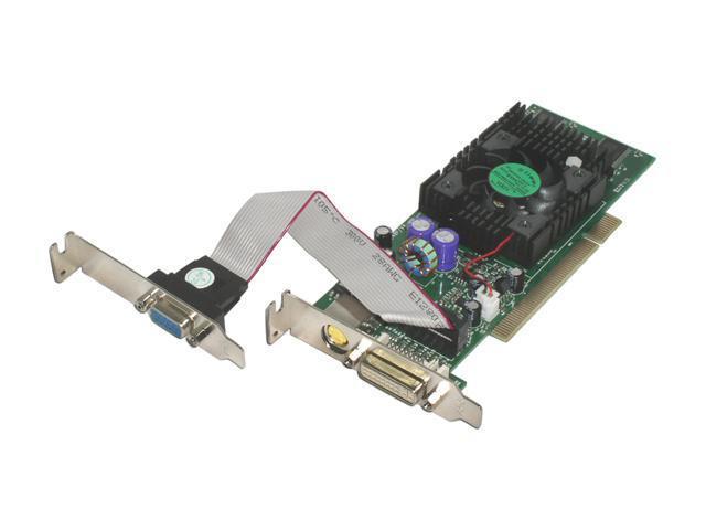 JATON GeForce FX 5700LE DirectX 9 3DForce Video-248PCI-DVI Video Card