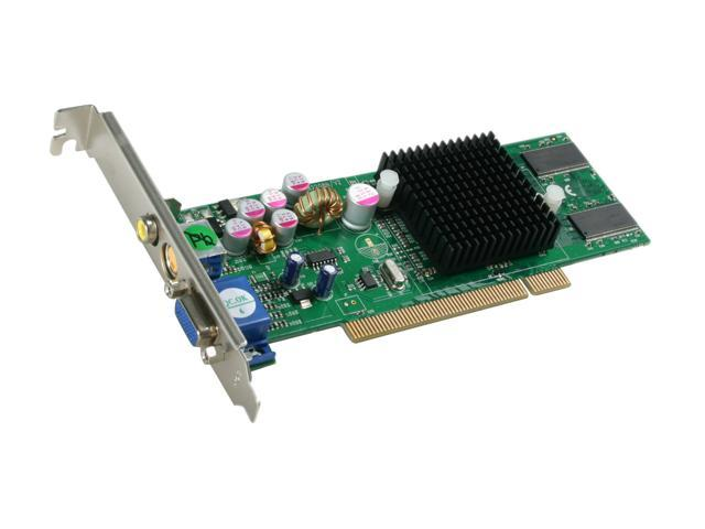 JATON GeForce MX4000 DirectX 8 Video-208PCI-128TV Video Card