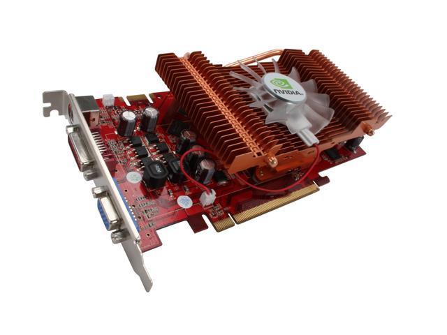 Apollo GeForce 9600 GT DirectX 10.1 AP-GF9600GT 256MB 256MB 256-Bit GDDR3 PCI Express 2.0 x16 HDCP Ready SLI Support Video Card