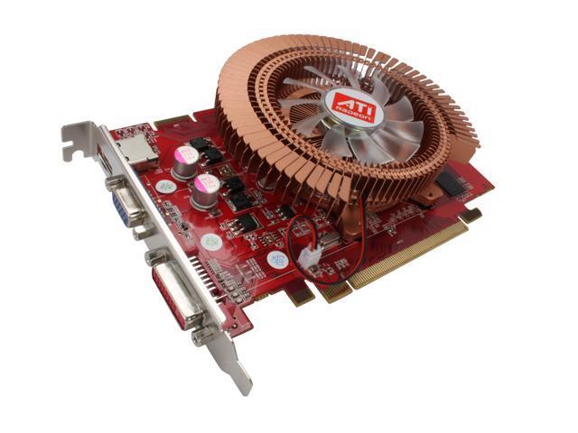Apollo Radeon HD 4670 DirectX 10.1 AP-HD4670 256MB 256MB 128-Bit GDDR4 PCI Express 2.0 x16 HDCP Ready CrossFireX Support Video Card