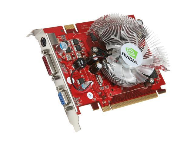Apollo GeForce 8600 GT DirectX 10 AP-8600GT 256MB DDR3 256MB 128-Bit GDDR3 PCI Express x16 HDCP Ready SLI Support Video Card