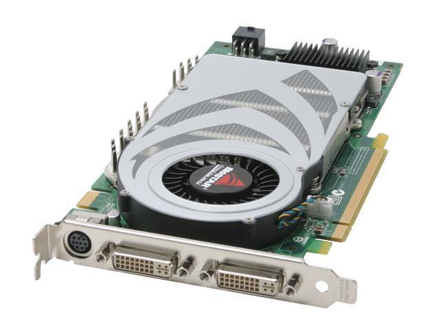 BIOSTAR GeForce 7800GTX DirectX 9 VN78GTX-D4E Video Card