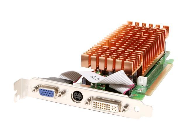BIOSTAR GeForce 7300LE DirectX 9 V7302EL26 256MB 64-Bit GDDR2 PCI Express x16 Video Card