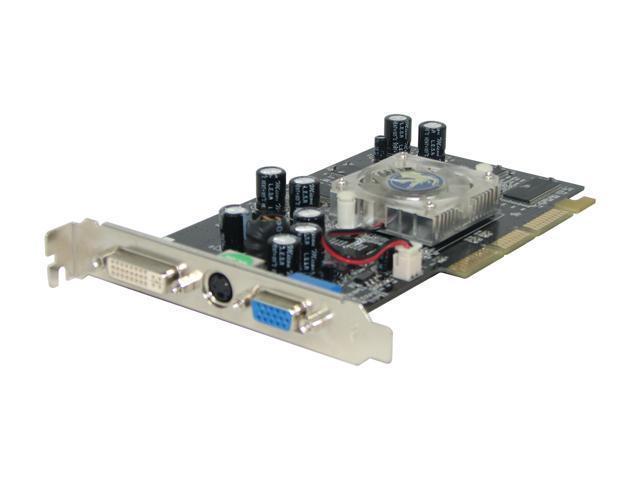 BIOSTAR GeForce FX 5200 DirectX 9 VP5200SS16 128MB 64-Bit DDR AGP 4X/8X Video Card