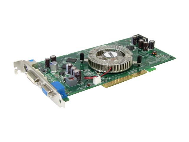BIOSTAR GeForce 6800XT DirectX 9 V6802XT21 Video Card