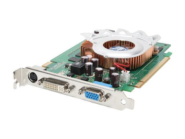 BIOSTAR GeForce 8600 GT DirectX 10 V8602GT51 Video Card