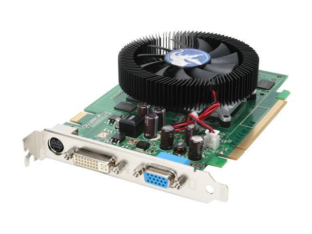 BIOSTAR GeForce 8500 GT DirectX 10 VR8502GT21 256MB 128-Bit GDDR2 PCI Express x16 SLI Support Video Card