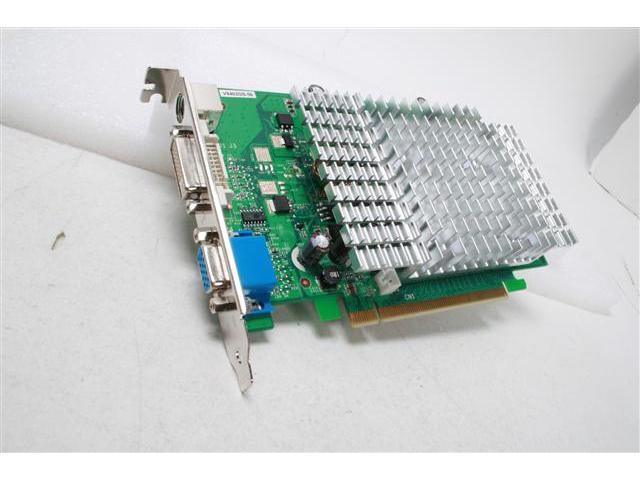 BIOSTAR GeForce 8400 GS DirectX 10 V8402GS56 512MB 64-Bit GDDR2 PCI Express x16 Video Card