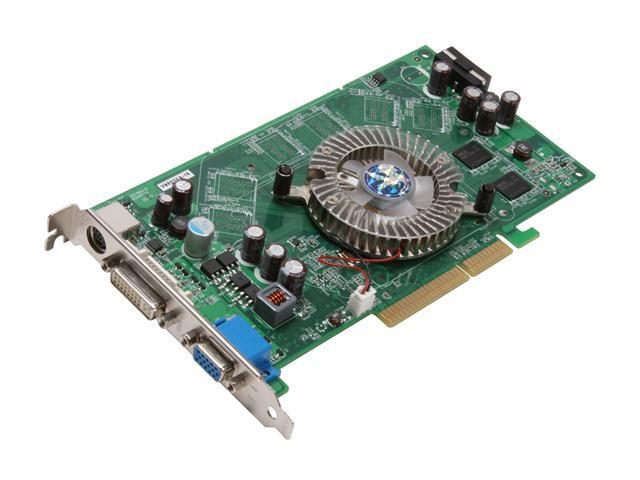 BIOSTAR GeForce 6800XT DirectX 9 V6802XA16 Video Card