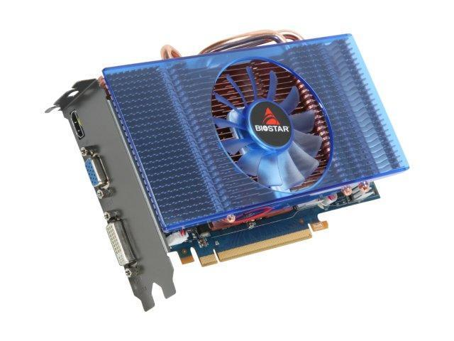 BIOSTAR GeForce GTS 250 DirectX 10 VN2503SH52 512MB 256-Bit DDR3 PCI Express 2.0 x16 HDCP Ready SLI Support Video Card