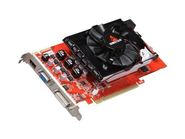 BIOSTAR Radeon HD 4850 DirectX 10.1 VA4853NHG2-YB1RY Video Card